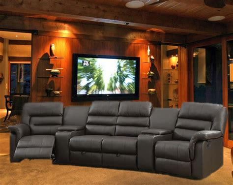 theatre seating bardi theater seating 5 espresso home theater