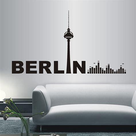 kinderzimmer deko berlin deko shop 24 de wandtattoo berlin equilizer deko