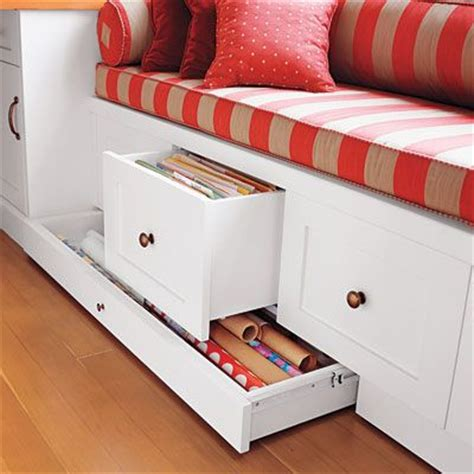 Window Seats With Drawers by A Small Space Home With Loads Of Built In Charm Craft