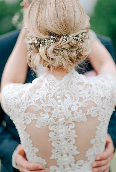 Wedding Hairstyles For Lace Dresses bridal hairstyles stylish wedd
