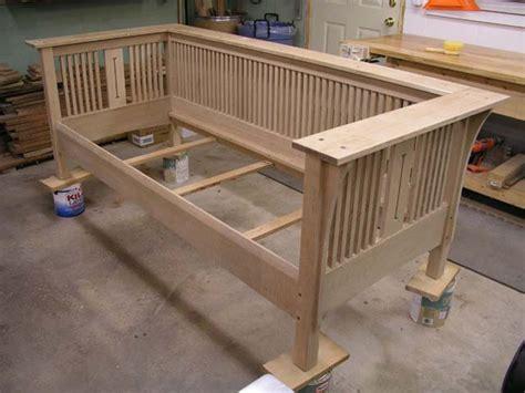 woodwork mission sofa plans  plans