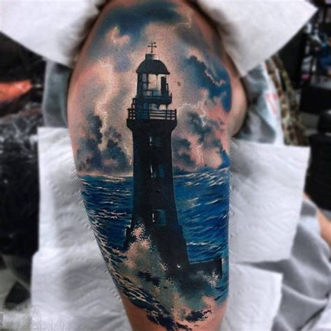 lighthouse tattoo jonathanvandyck