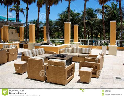 outdoor sitting outdoor sitting area stock image image of landscape