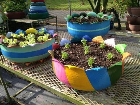 jardines de llantas lunesderecomendaci 243 n c 243 mo hacer macetas con llantas