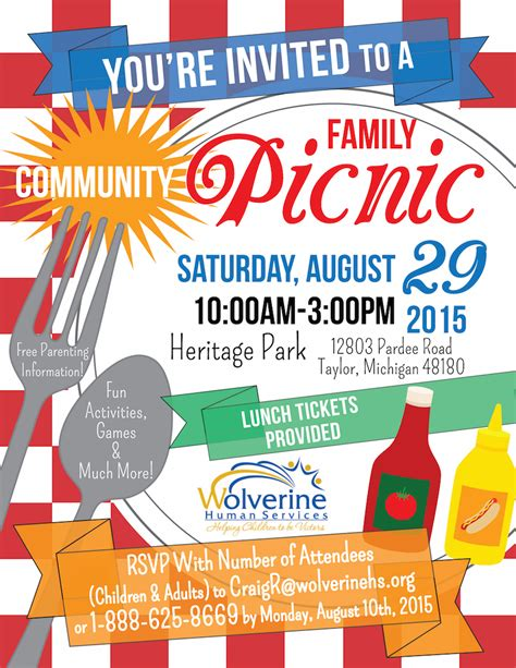 picnic flyer template family reunion flyer templates wallpaper
