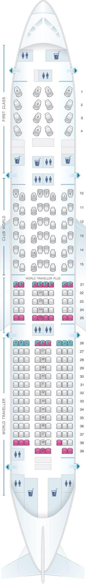 ba 777 seat map seat map airways boeing b777 200 four class