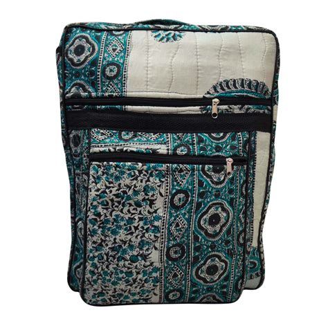 Handmade Fabric Bags Patterns - vintage fabric handmade backpack floral pattern school