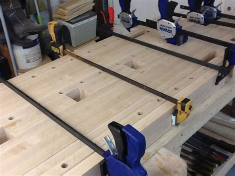 work bench dog hole spacing work bench build 6 taking stock and planning