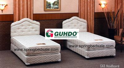 Bed Guhdo Single springbed info promo guhdo bed