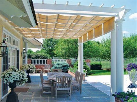 pergola shade panels the artistic way to do shade alpha canvas awning