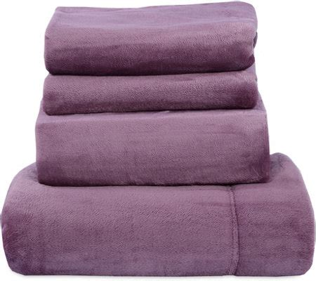 velvet soft cozy sheet sets full size berkshire blanket velvet soft cozy sheet set page 1 qvc