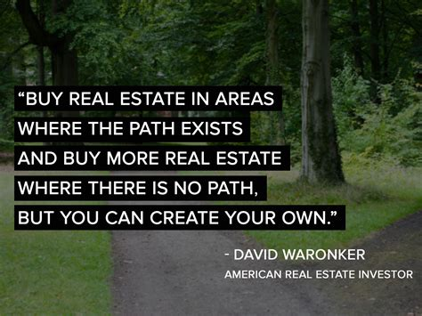 get inspired with ten quotes on real estate investing