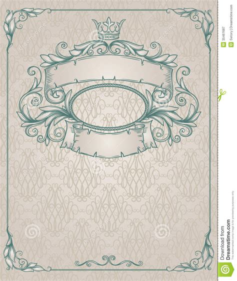 templates free vintage vintage banner royalty free stock photography image