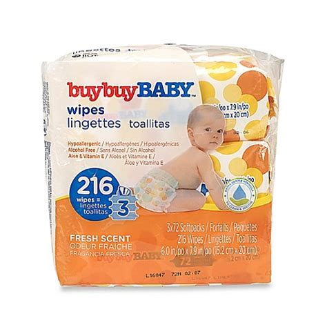 Baby And Wipes 60pcs 3pack buybuy baby 3 pack 72 count wipes in fresh scent www buybuybaby