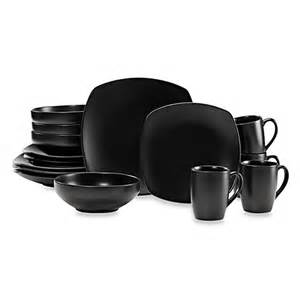 outdoor geschirr set buy gibson home paradiso 16 square dinnerware set in