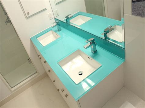 Back Painted Glass Countertops by Backpainted Glass Countertop Bathrooms Cbd Glass