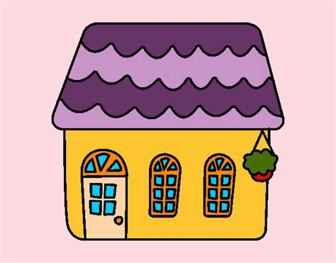 disegni casa disegno casa di una favola colorato da violaviola il 22 di