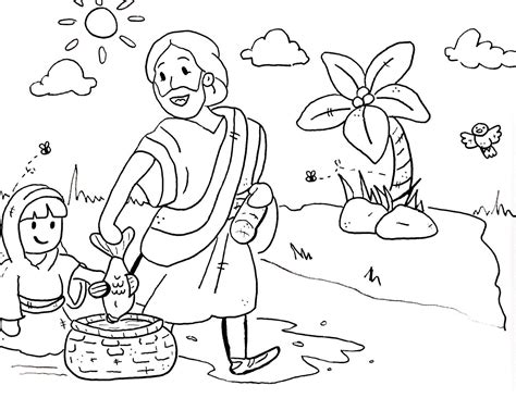 coloring pages sunday school preschool sermons for coloring pages