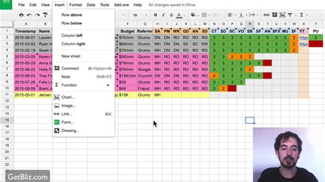 project management  google sheets youtube