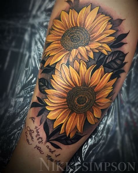 sunflower sleeve tattoo best 25 sunflower sleeve ideas on