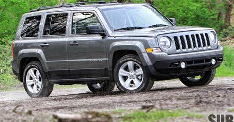 Jeep Patriot Latitude Reviews Review 2012 Jeep Patriot Latitude 4x4 A Compact