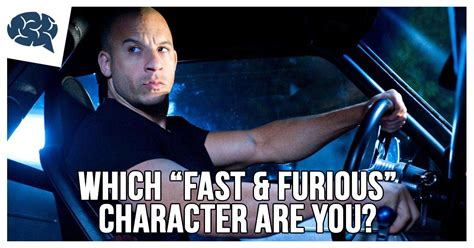 fast and furious quiz which character are you which fast furious character are you brainfall