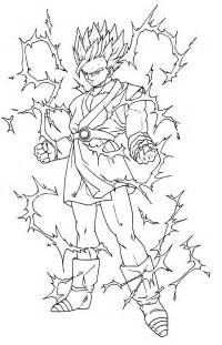 coloriage dragon ball les beaux dessins dessin anim 233 224 imprimer colorier
