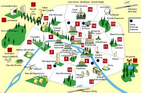 map of landmarks 2 map of landmarks 2 travel maps and major