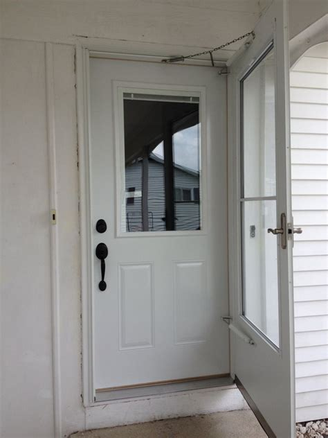 Steel Door Installation by Mastercraft Steel Door Installation Defiance Ohio