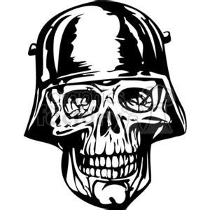 holocaust tattoo cartoon royalty free nazi soldier zombie skull 368788 vector clip