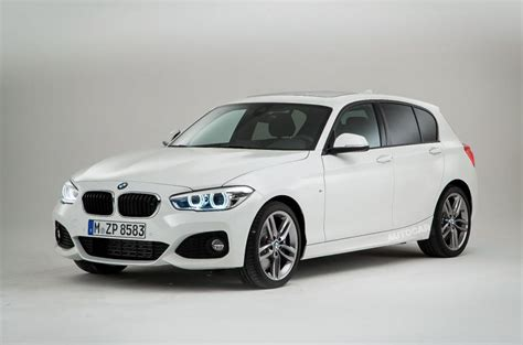 facelifted bmw 1 series exclusive studio pictures autocar