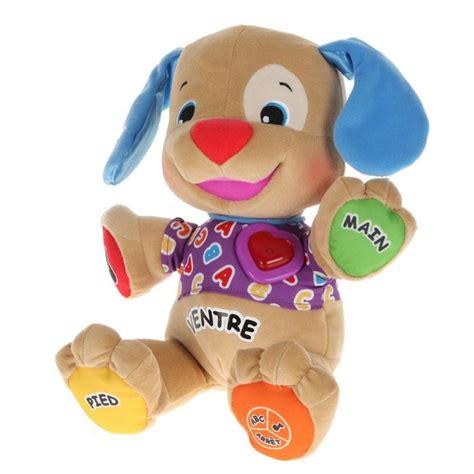fisher price puppy fisher price puppy chiot rire et eveil interactif achat vente jeu d apprentissage