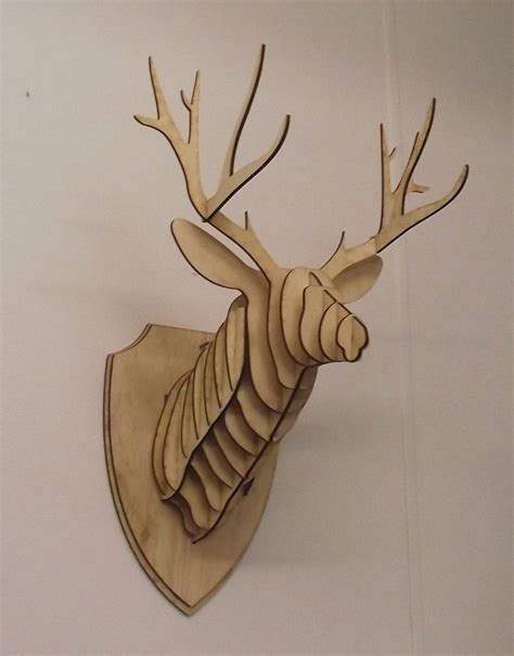 diy cardboard deer reindeer sprays and