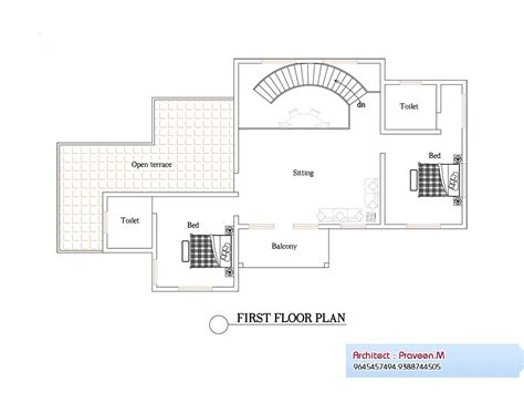floor plan and elevation of 2203 square feet 205 square 2906 square feet 4bhk kerala home design plan and