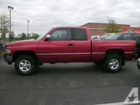 Dodge Ram 1997 For Sale 1997 Dodge Ram 1500 For Sale In Oregon Ohio Classified