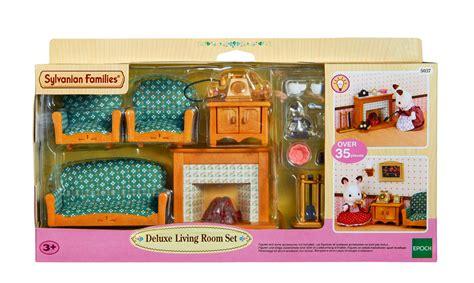 Sylvanian Living Room Set Sylvanian Families Room Set 5037 Deluxe Living Room Set 3 Ebay