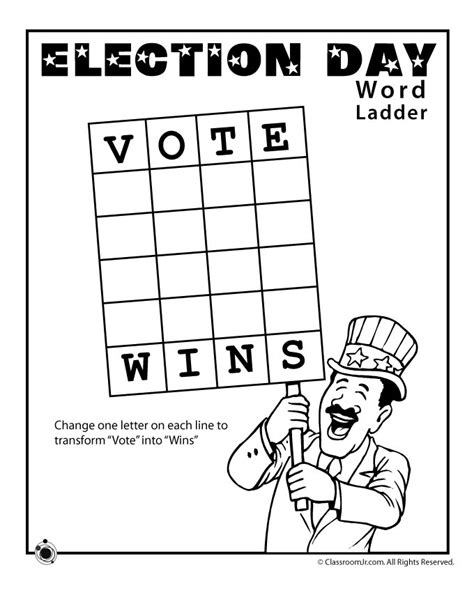election day coloring pages preschool election worksheets for kids woo jr kids activities