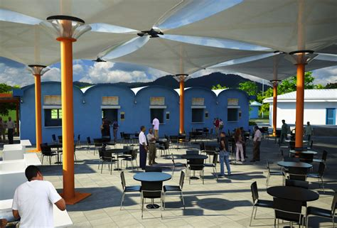 design food court outdoor jyoti communication used roofing material at piarco