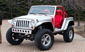 In A Jeep Jeep Bringing Six Hopped Up Mopar Built Vehicles To