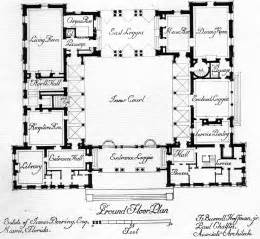 Courtyard Homes Floor Plans Central Courtyard House Plans Find House Plans