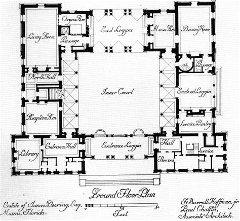Courtyard House Plan | central courtyard house plans find house plans