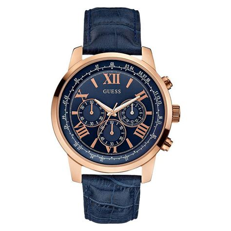 Guess Gs0281 Rosegold new guess chronograph gold blue