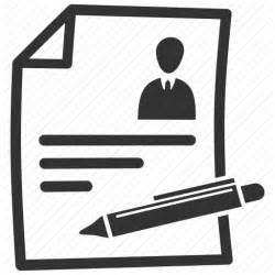 contract cv document resume icon icon search engine
