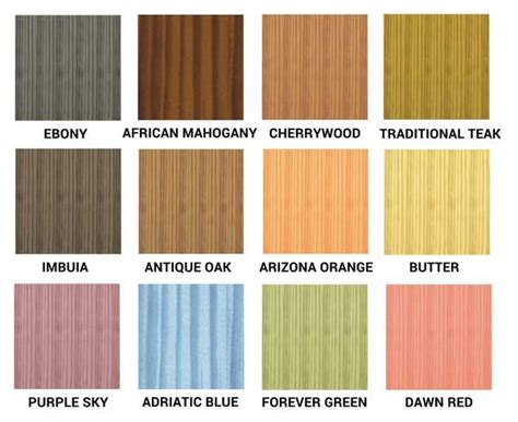 woodoc gel stain color chart painting staining