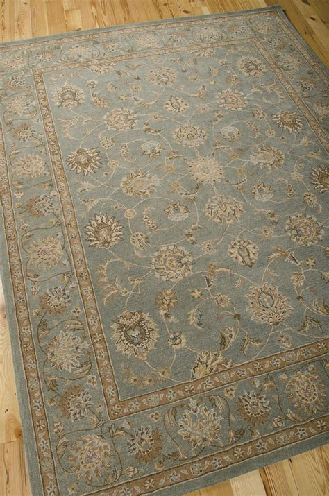 Nourisson Rugs by Heritage He15 Aqua Rug By Nourison