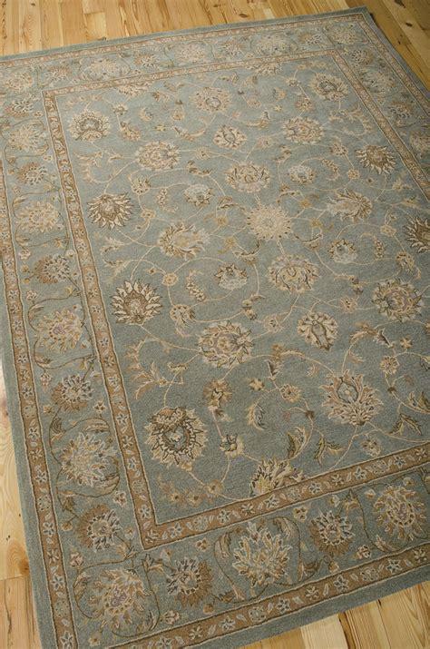 nourisan rugs heritage he15 aqua rug by nourison