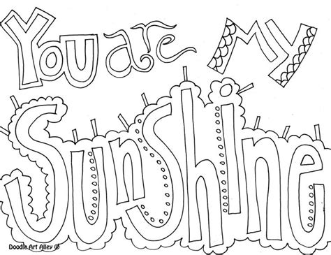 doodle alley all quotes coloring pages 1000 images about doodle alley on