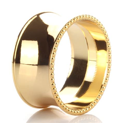 napkin rings gold napkin ring promotion shop for promotional gold