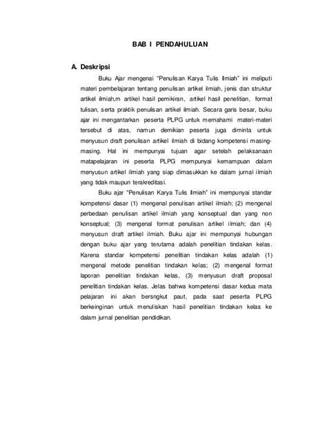Buku Panduan Menulis Ptk Dan Karya Tulis Ilmiah Untuk Guru Fita N Pr penulisan karya tulis ilmiah