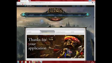Pbe Account Giveaway - how to make pbe account on league of legends tutorial youtube